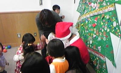日曜参観とクリスマス会