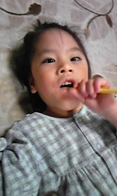 歯磨き大好き